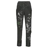 Sweat-Pant mit Print 72cm, khaki