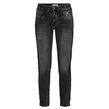 Jeans mit Flechtstreifen 70cm, dark grey