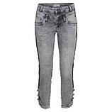 Sweat-Hose mit Knopf-Abschluss 62cm, light grey