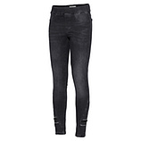 Jeggings mit Flecht-Band 70cm, grey