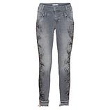 Jeans mit Spray-Print 72cm, grey