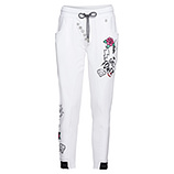 Jogging-Pant Comic-Design 62cm, weiss