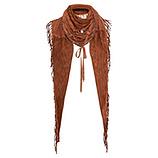 Schal mit Kreuzschnürung, outback
