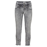 Sweat-Jeans mit Nieten 60cm, light grey