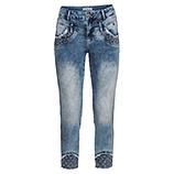Sweat-Jeans mit Nietendetails 64cm, blue