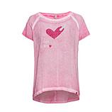 Shirt mit Herz, hellrosé