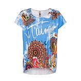 Oversize Shirt, himmelblau