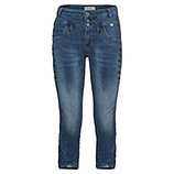 Sweat-Jeans mit Zier-Knöpfen 55cm, light blue