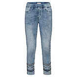 Jeggings mit Glitzersteinen 64cm, light blue