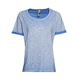 CHARITY- Shirt #zusammensindwirstark, himmelblau