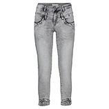 Jeans mit Ziersteinchen 64cm, light grey