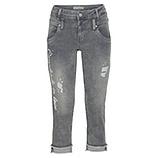 Jeans mit Schriftzug 56cm, grey