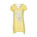 Shirt mit Cut-Outs, sunkiss