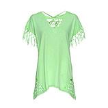 ONLINE EXKLUSIV: Shirt mit Flecht-Optik, lemongrass