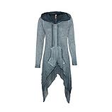 Shirt-Jacke mit Glitzersteinchen, baltic