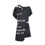 Shirt mit Schriftzug, magnet