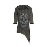 Shirt mit Front-Design, khaki