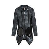 Sweat-Jacke mit Netz, magnet