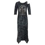 Kleid mit Glitzersteinen, magnet