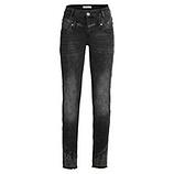 Sweat-Jeans mit Glitzersteinchen 80cm, black