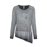 Shirt in Suede-Optik mit Stern, magnet