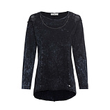 COSY Shirt mit Mesh, night