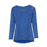 COSY Shirt mit Mesh, blue glow