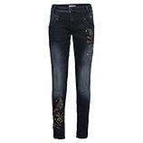 Jeans mit Nieten 78cm, dark blue