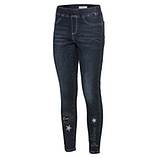 Jeggings Je t'aime 70cm, dark blue
