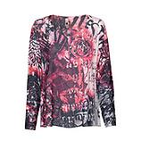 Shirt im Alloverprint, bunt