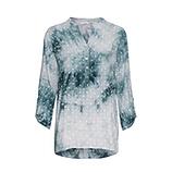 Bluse mit Sternen-Print, baltic