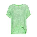 COSY Shirt mit Struktur, green glow