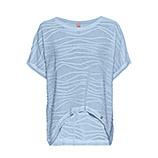 COSY Shirt mit Struktur, eiskristall