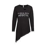 Shirt 'Fabulous', schwarz