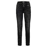 Jeans mit destroyed-Elementen 78cm, dark grey