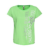Shirt mit Print, green glow