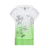 Shirt mit Farbverlauf, green glow