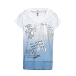 Shirt mit Farbverlauf, eiskristall