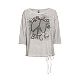 Shirt Peace, silber