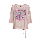 Shirt Peace, rosenholz
