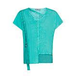 COSY Shirt mit Netz, ocean