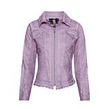 Jeansjacke mit Spitze, lilac