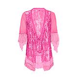 Jacke aus Floral-Spitze, pink glow