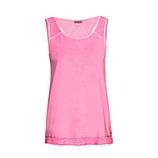 Top mit Netz, pink glow