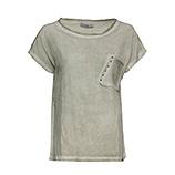 Shirt mit Netz, salbei