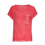 Shirt mit Netz, sorbet