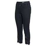 Jeggings mit Galonstreifen, navy