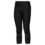 Leggings mit Netz, schwarz