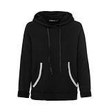 COSY Home-Wear Hoodie, schwarz