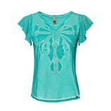 Shirt mit Libellen-Motiv, ocean